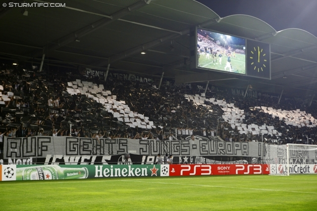 The UPC Arena on the 25th August, last time the UPC was sold out (picture courtesy of sturmtifo.com)