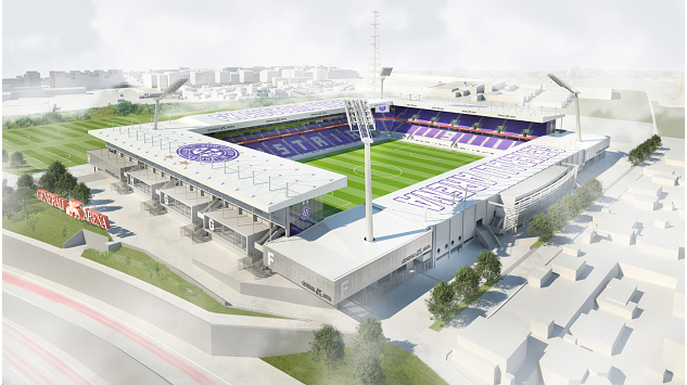 The proposed future Generali Arena in 2018 (picture courtesy of fk-austria.at)